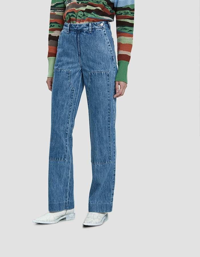 93aa40f40b Lorod   Denim Carpenter Pants in Indigo Stonewash in 2019