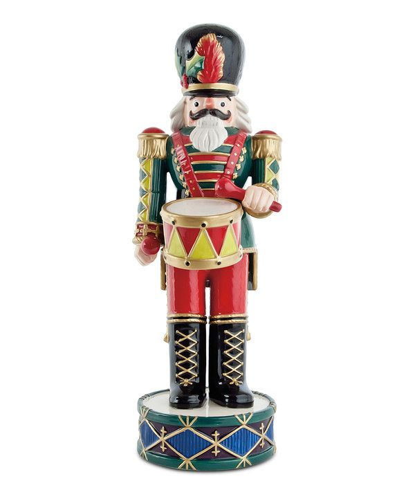 Take a look at this Green Holiday Nutcracker Figurine on zulily today!