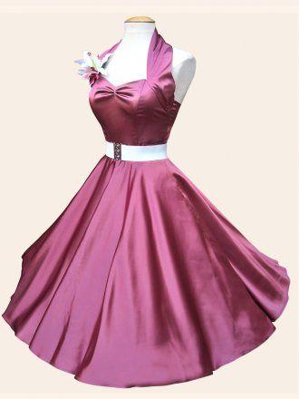 1950 Satin Dresses