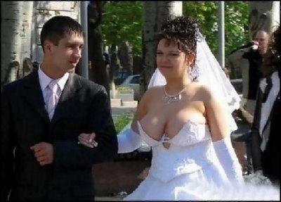 Wedding big tits