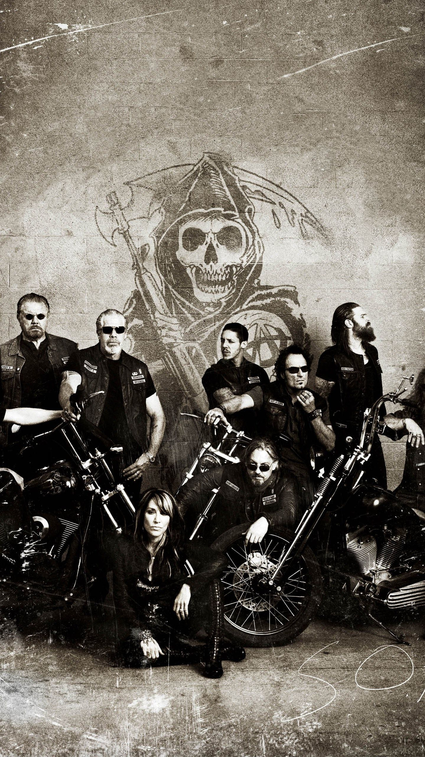 Sons Of Anarchy Phone Wallpaper Moviemania Sons Of Anarchy Charlie Sons Of Anarchy Sons Of Anarchy Reaper