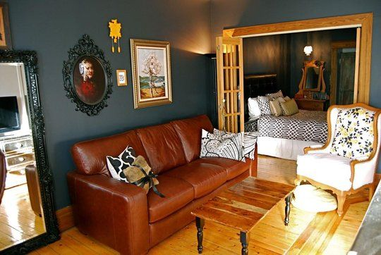 Brilliant Caramel Leather Couch Dark Teal Walls White Chair What Ibusinesslaw Wood Chair Design Ideas Ibusinesslaworg