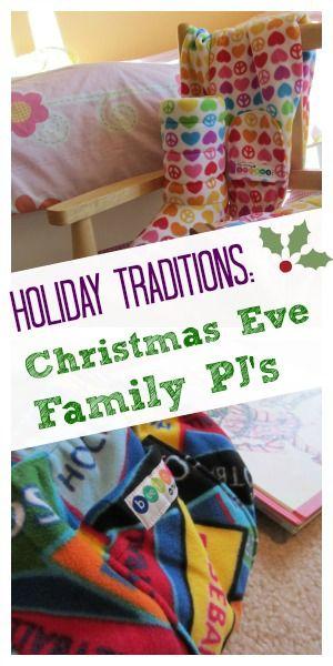 christmas eve tradition: family pajamas! #familyfun