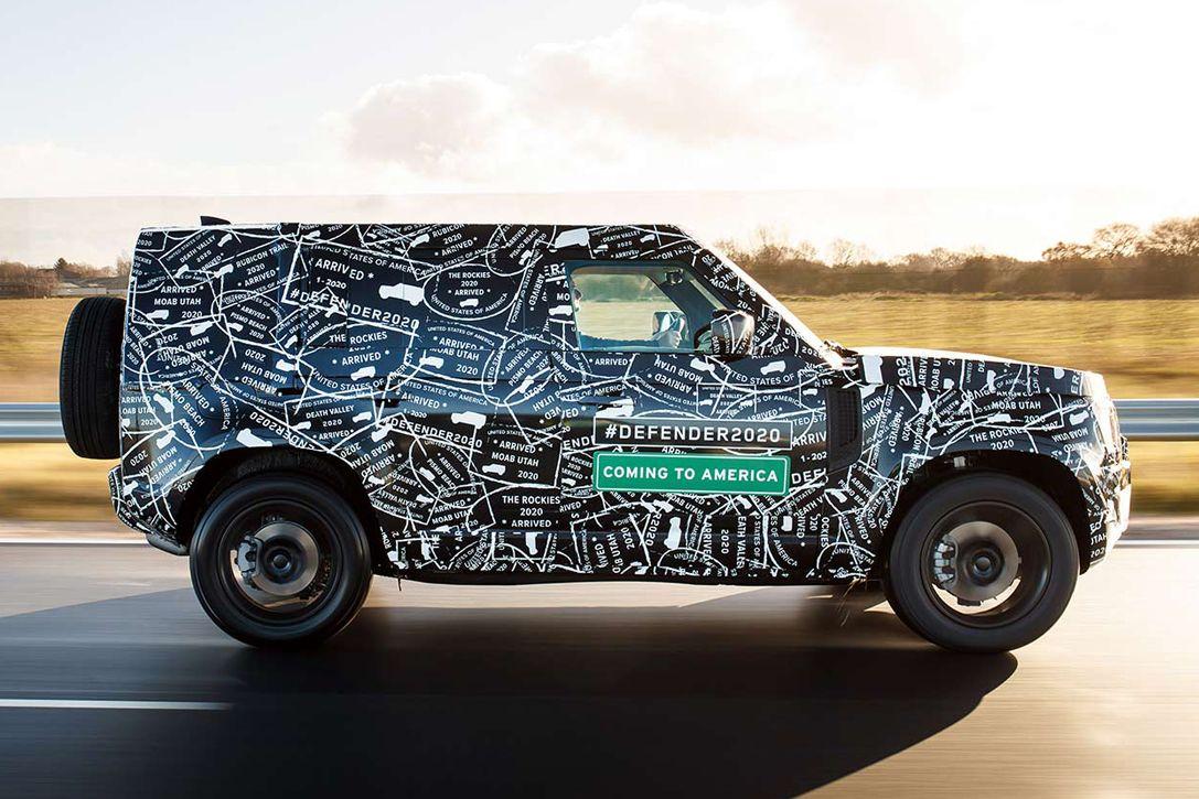 2020 Land Rover LR4 Rumors, Redesign, Release Date, Drivetrain >> 2020 Land Rover Defender Hiconsumption Defender Land