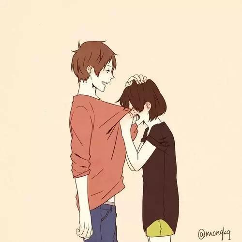 Pin oleh Oka Ayumi di Anime Couple Ilustrasi lukisan