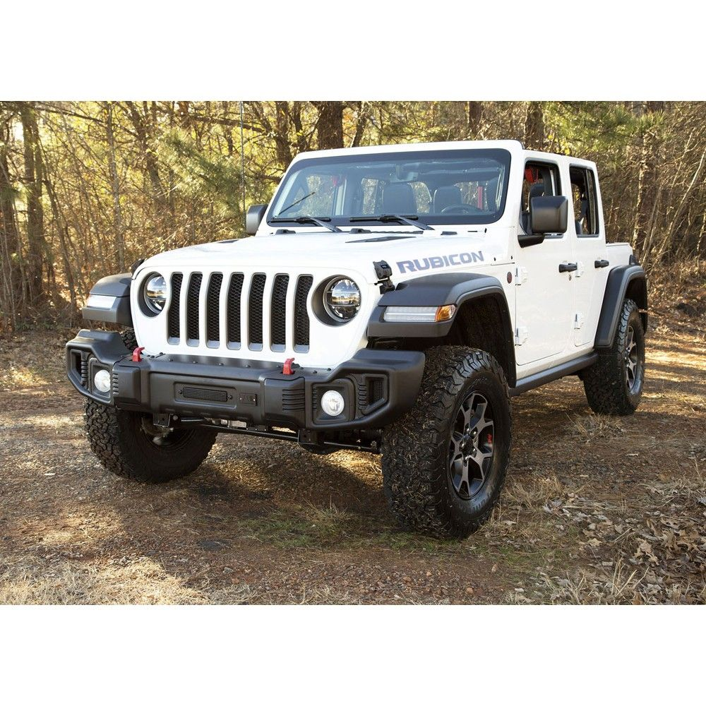 Rugged Ridge Spartacus Front Bumper Satin Black Jeep Wrangler Jl 2018 2020 Gladiator 2020 Jeep Wrangler Jeep Wrangler Accessories Jeep Wrangler Front Bumper