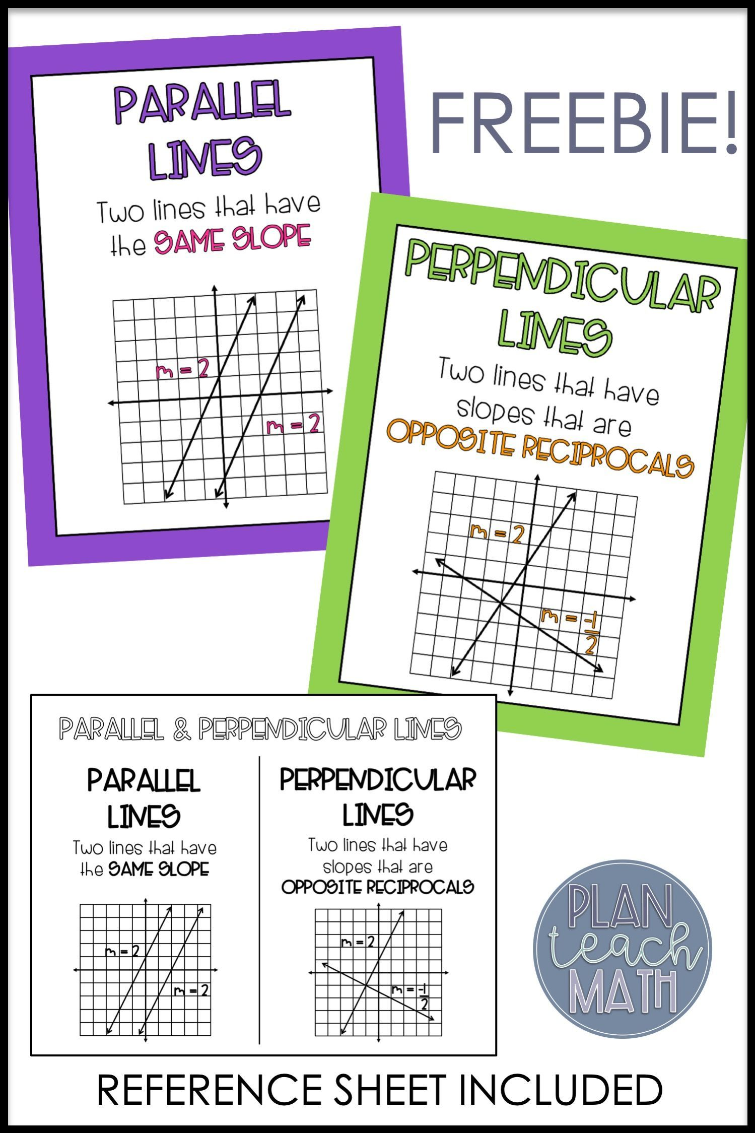 Parallel Amp Perpendicular Lines Posters And Reference