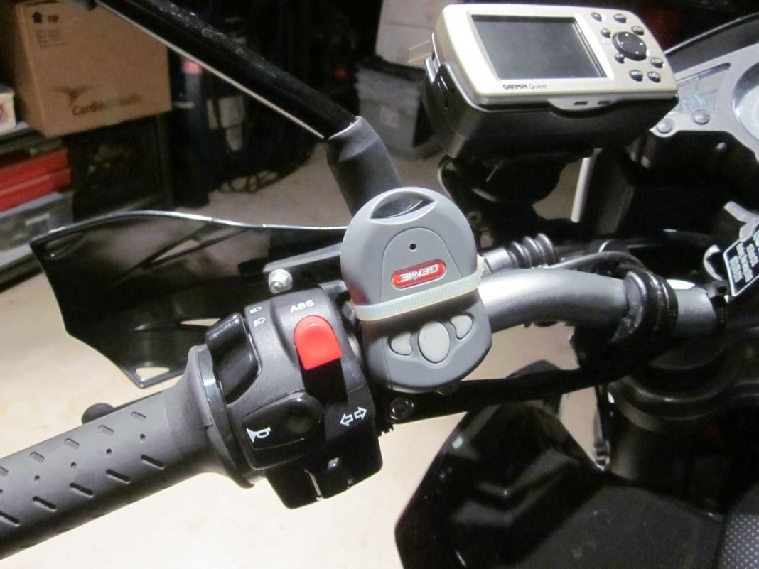 Motorcycle Garage Door Opener Handlebar Httpvoteno123