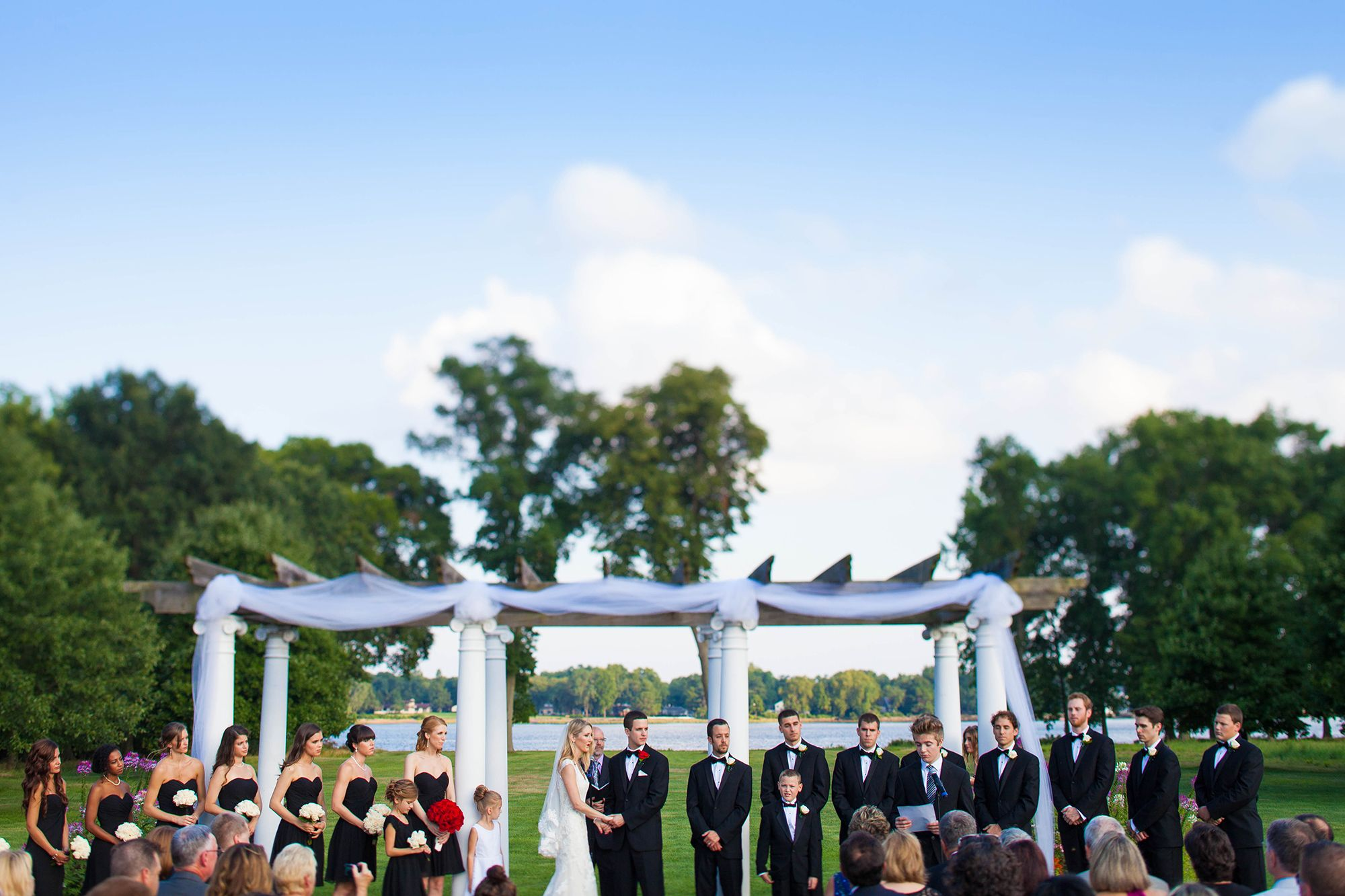 Outdoor wedding venues near Philadelphia Bucks County
