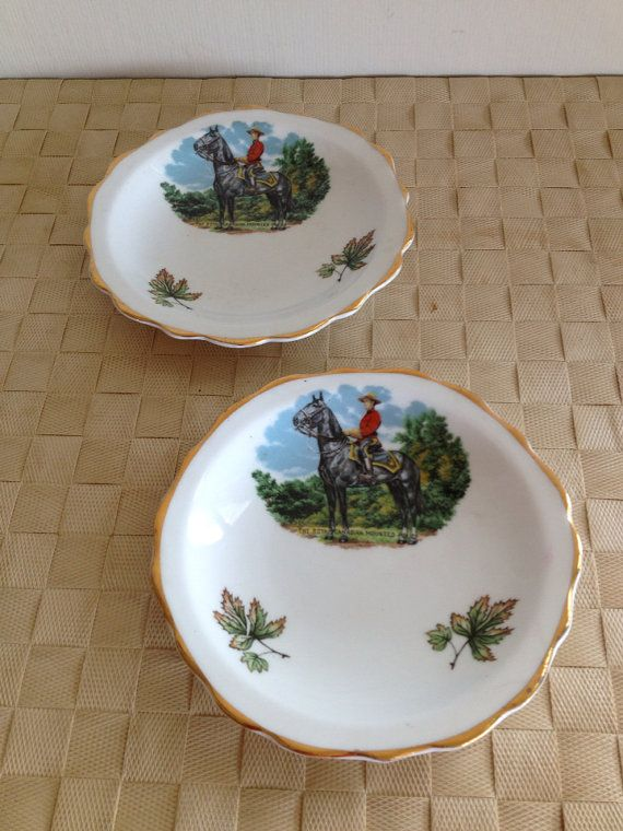 Pair of Vintage Royal Canadian Mounted Police by NorthernCousin, $24.00