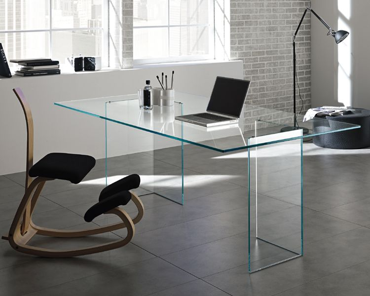 Tonelli Bacco Glass Dining Table Ultra Modern Contemporary Home Office Furniture Home Office Design Office Furniture Design