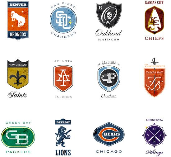 old nfl logos drawing library pinterest nfl games
