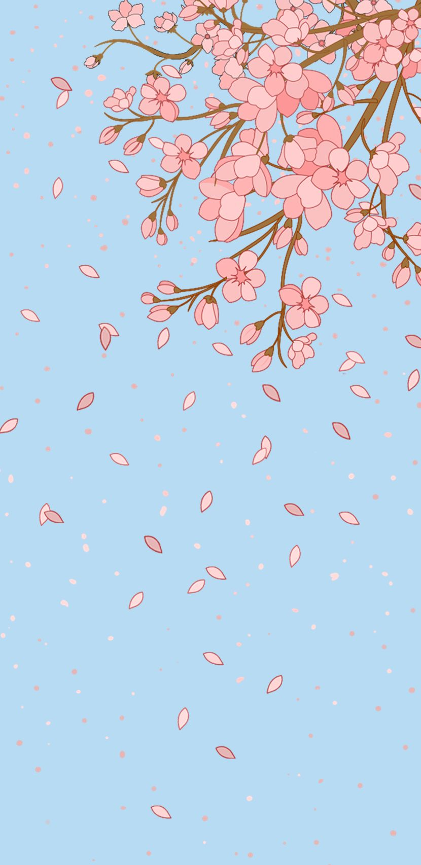 Spring Is Here And Also On Your Phone Kawaii Wallpaper Iphone Background Wallpaper Art Wallpaper
