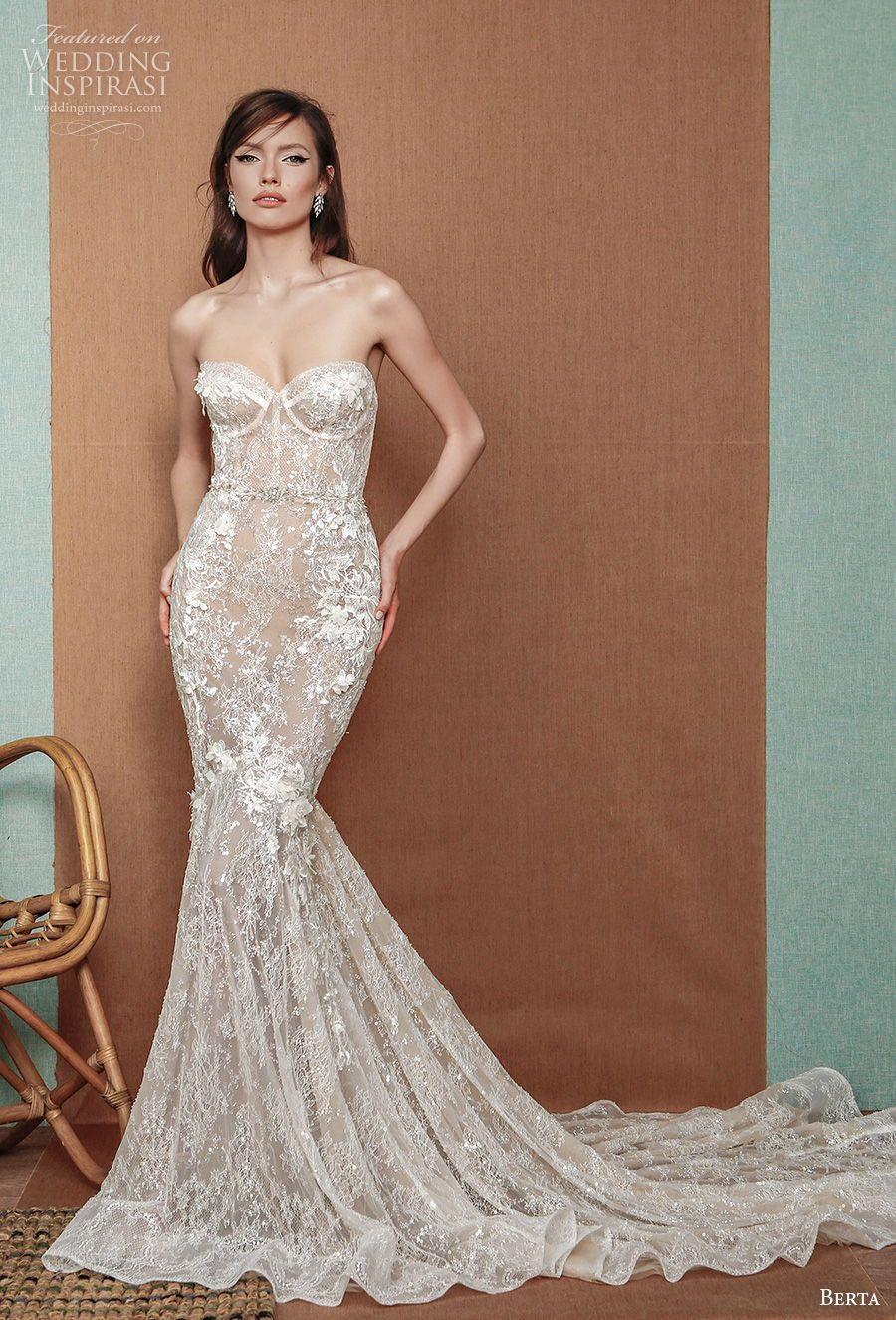 Berta Privee Spring 2021 Wedding Dresses Wedding Inspirasi Wedding Dresses Bridal Gowns Mermaid Mermaid Wedding Dress [ 1326 x 900 Pixel ]