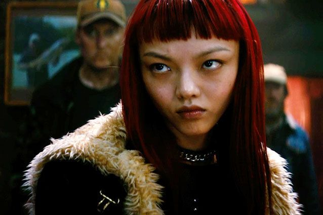 Asian girl in x men