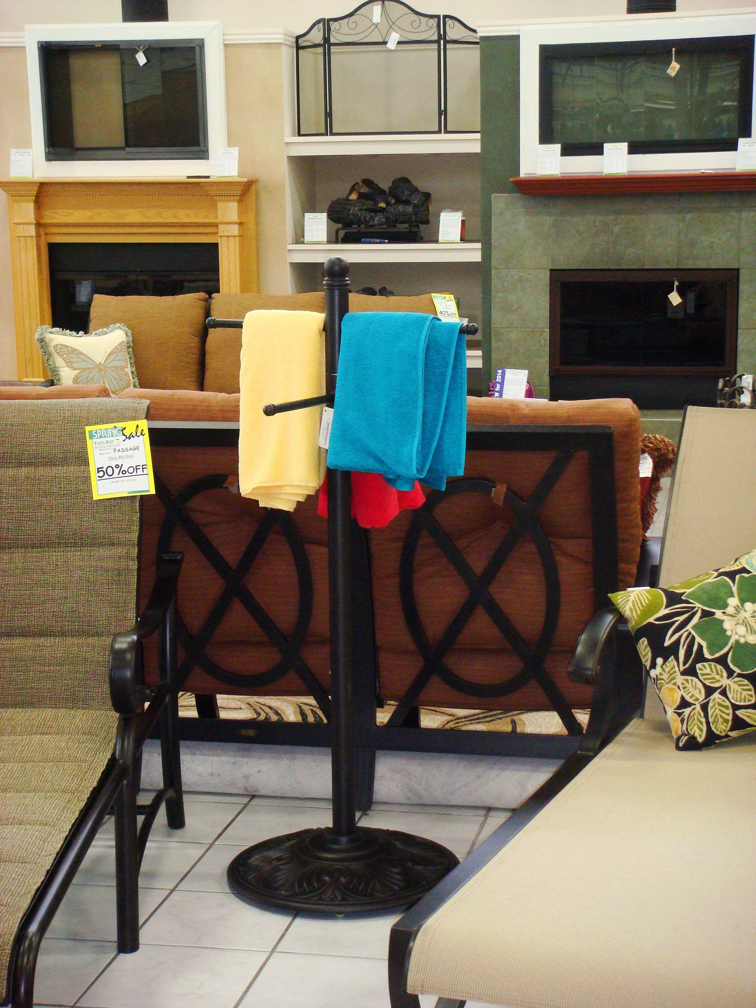 Towel Rack Myyardart Com Yard Art Decor Bar Stools