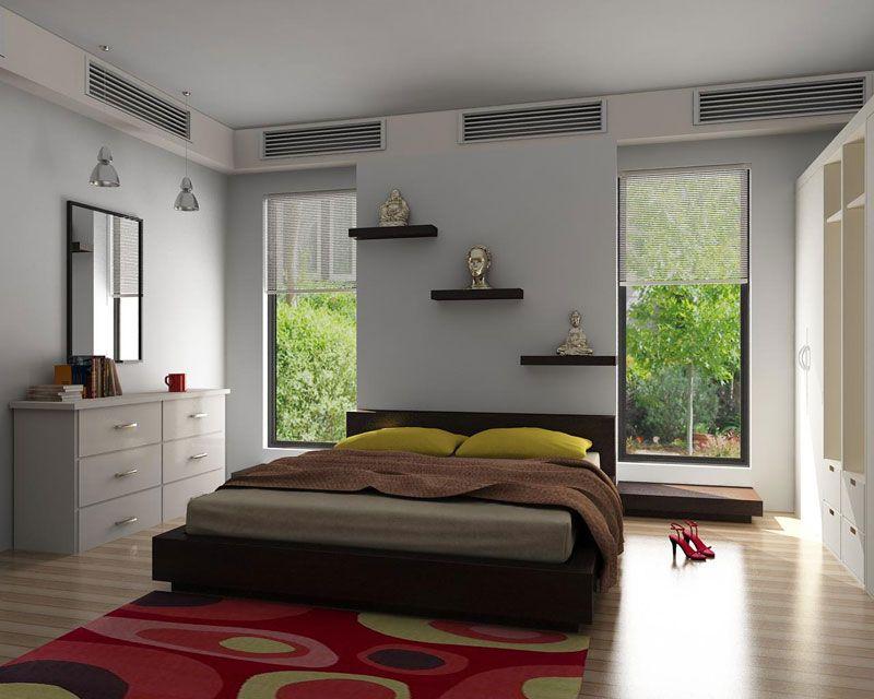 Amazing 3d Bedroom Design Of Interior Interior Design 3d Bedroom With Simple Mirror And Interior Design Interior Design Renderings 3d Interior Design