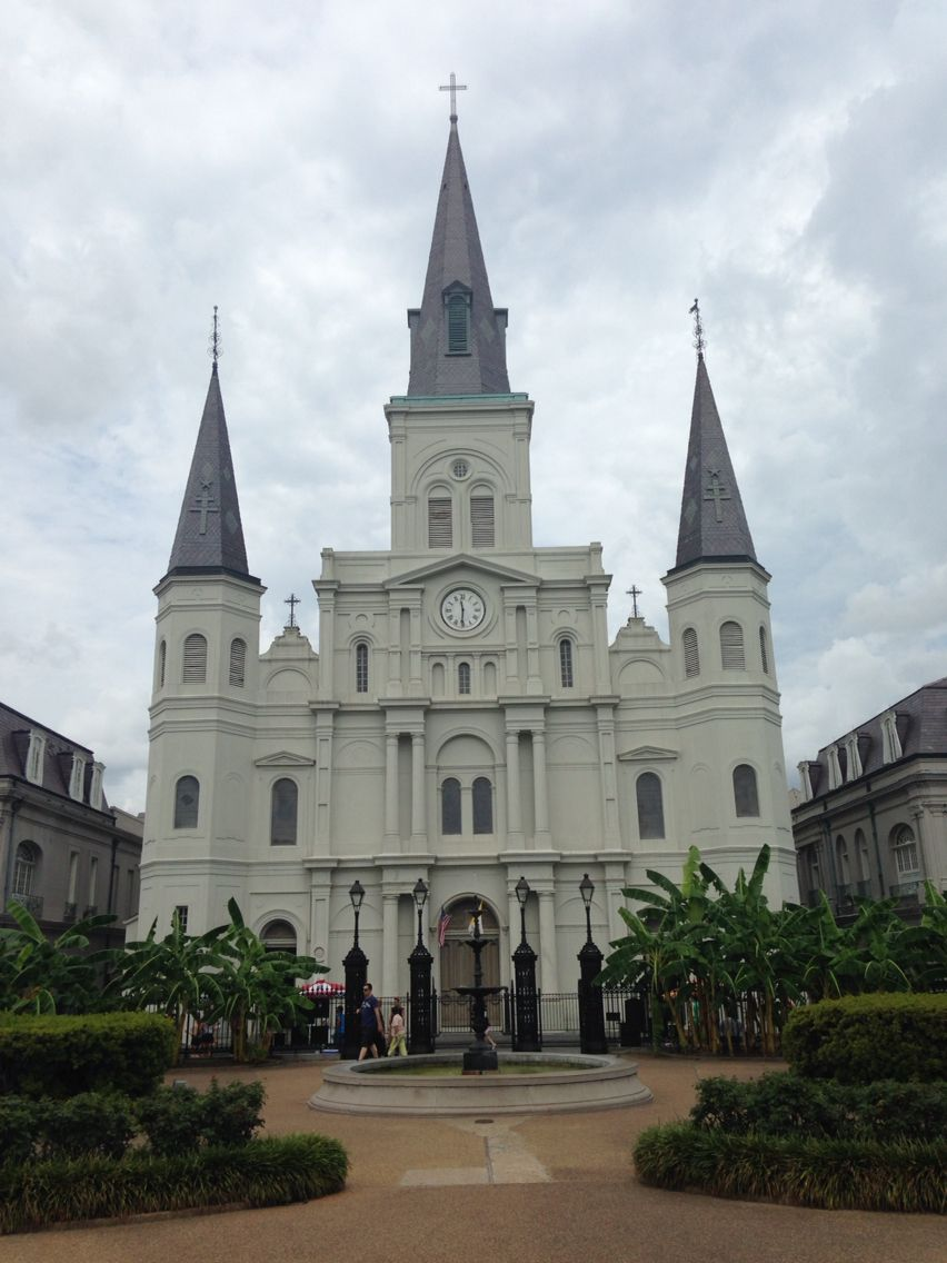 St. Louis Cathedral. Free self tour. Very beautiful