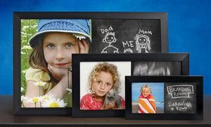Groupon - Custom Photo Chalkboards from PhotoChalkBoards.com (Up to 67% Off). Two Options Available. Shipping Included. in [missing {{location}} value]. Groupon deal price: $19.99