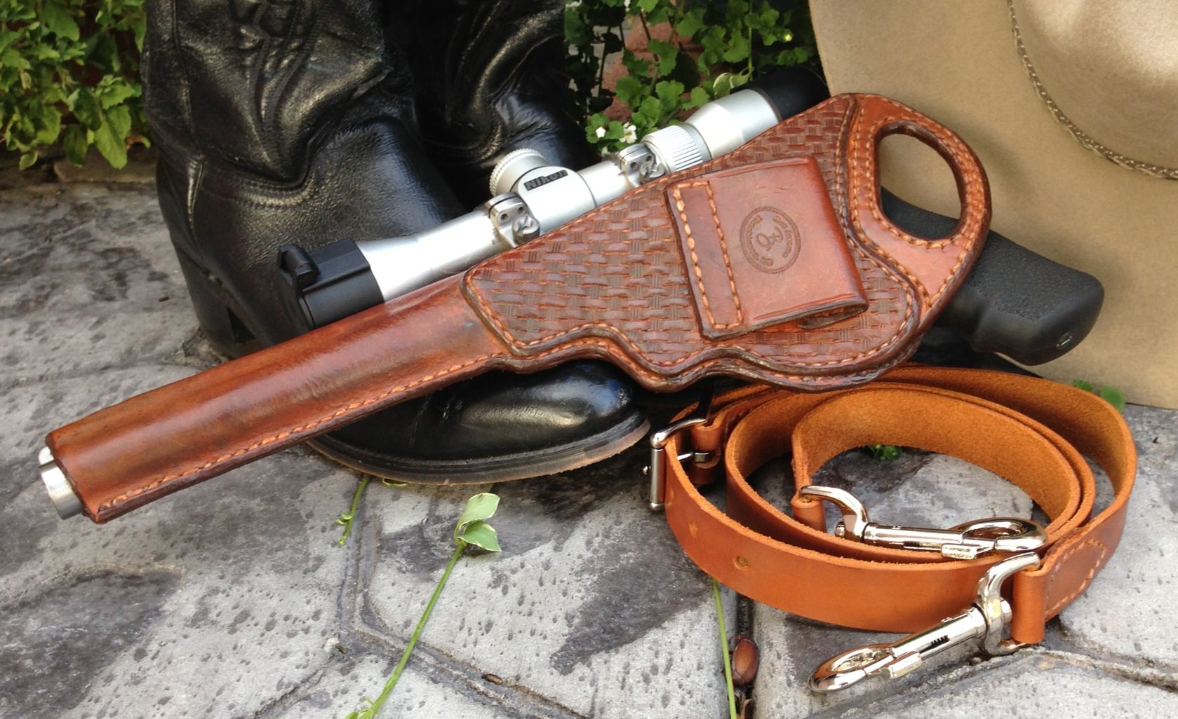 Ruger Super Redhawk Holster Leatherworking Leather