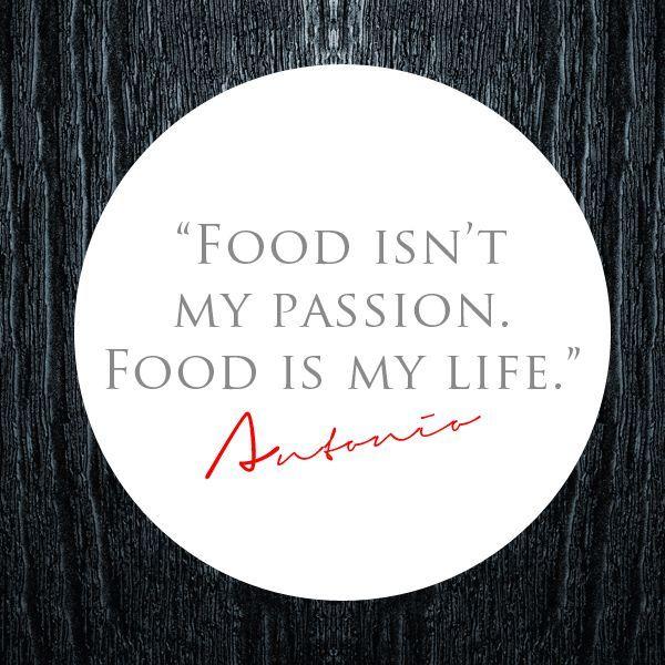 Chef Quotes Custom Antonio Ruggerino Chef Owner Of Verde Restaurant Bar Food