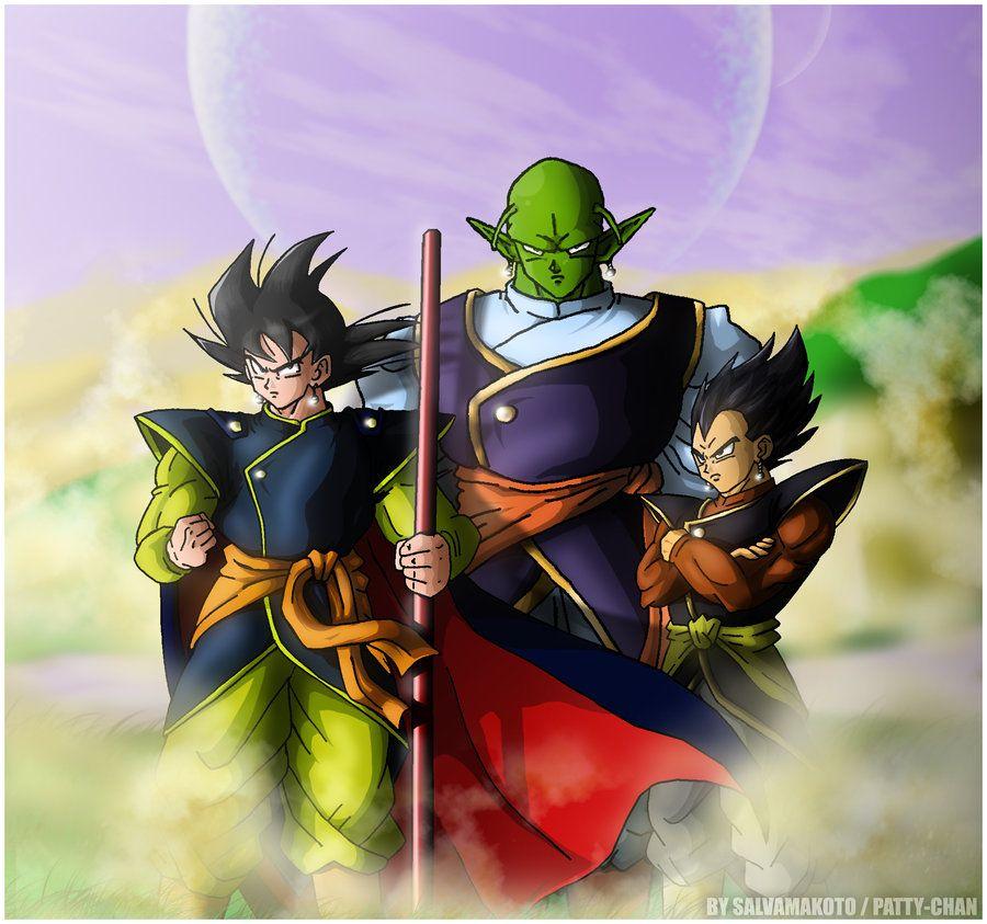 Goku, Piccolo, And Vegeta Kais Lol