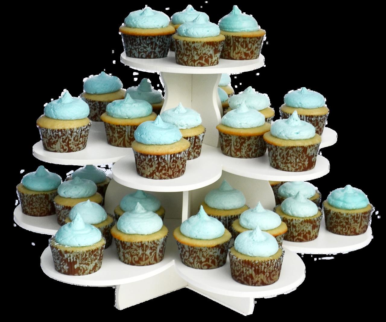 3 Tier Flower Cupcake Tower Cupcake Tower Stand Dessert Stand Cupcake Tower