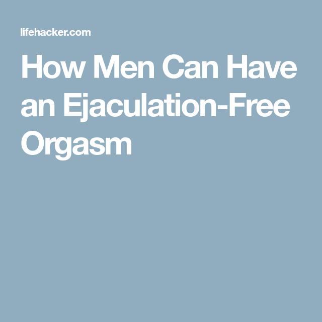 Cómo los hombres pueden tener un orgasmo, eyaculación gratuito Just Me-7563