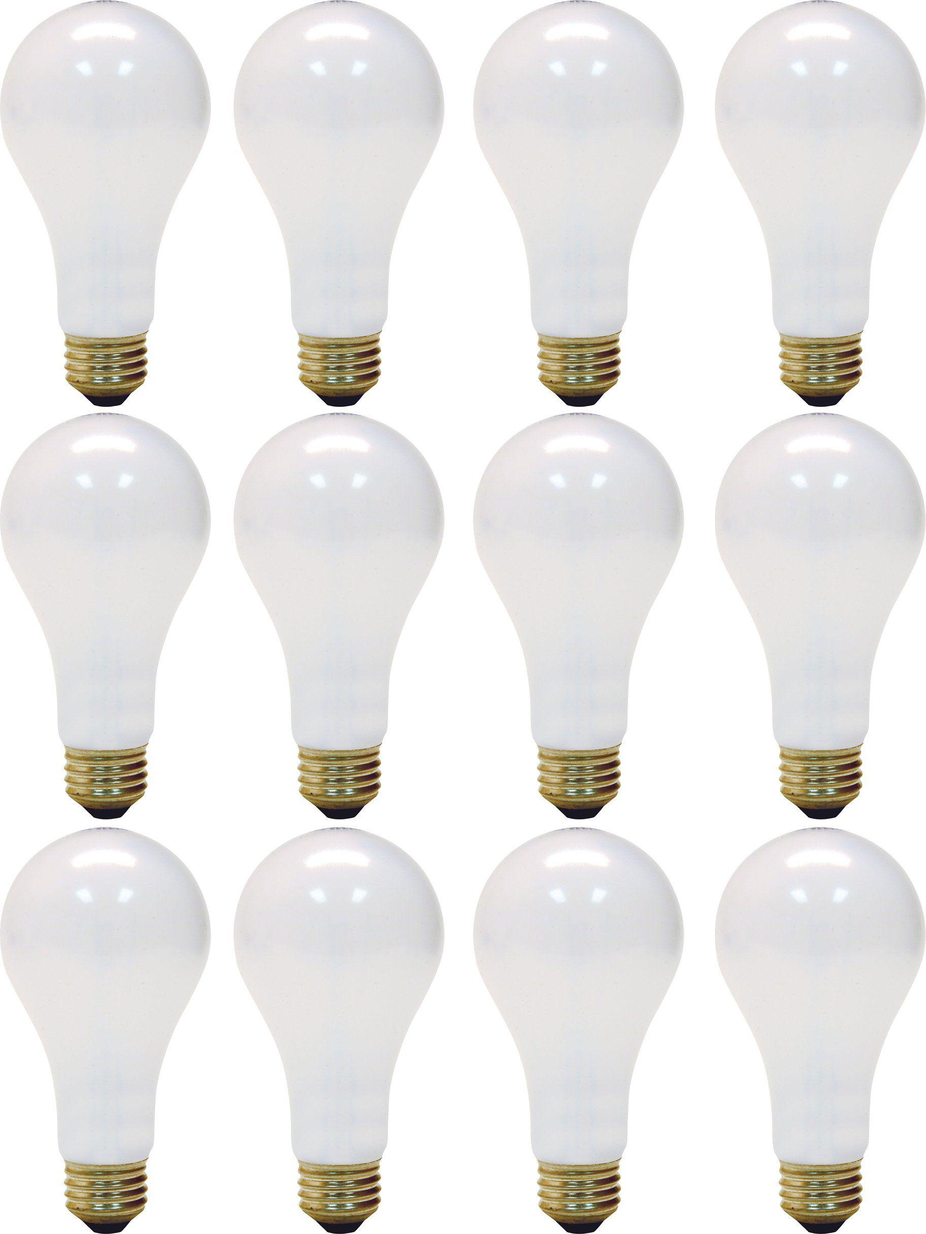 Ge Lighting Soft White 3 Way 97494 50 100 150 Watt 2155 Lumen A21 Light Bulb With Medium Base 12 Pack Ad Watt Spon Lightin Ge Lighting Light Bulb Bulb