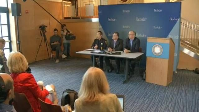 LIVE: UC Berkeley holds a press conference with a significant update on efforts to reschedule an appearance by conservative author Ann Coulter.