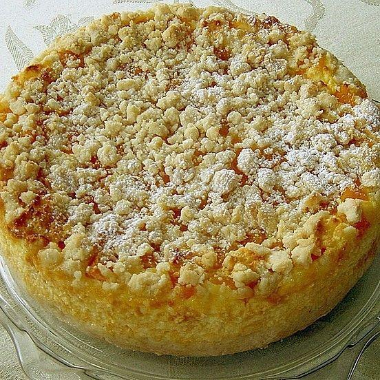 Cheesecake de iogurte de pêssego   - Kuchen -