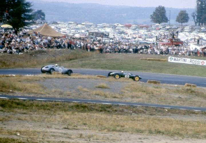 Image result for Watkins Glen for the F1 way back in 1961