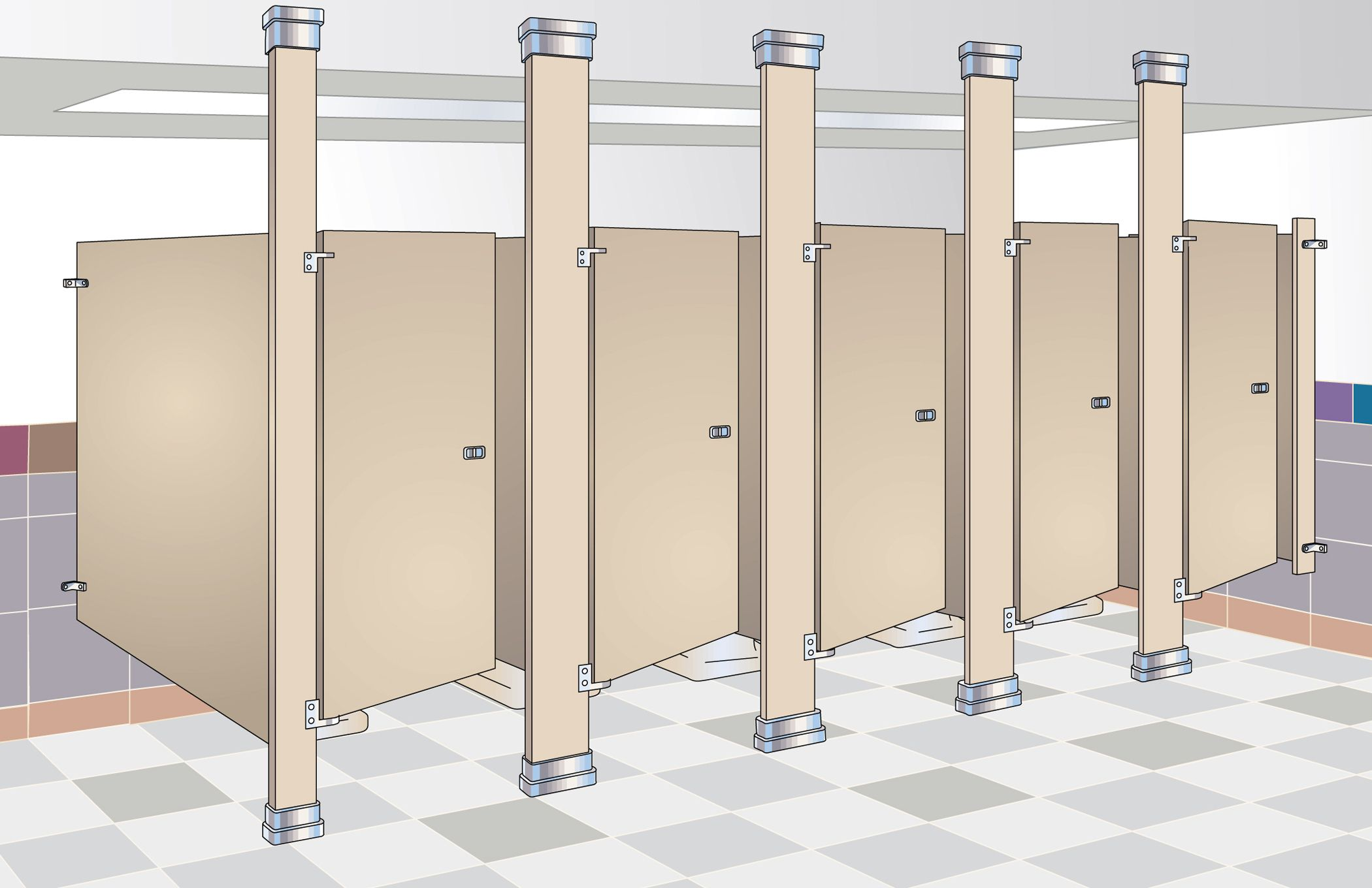 Commercial Bathroom Stalls Hardware bathroom stall height | ideas | pinterest | bathroom stall