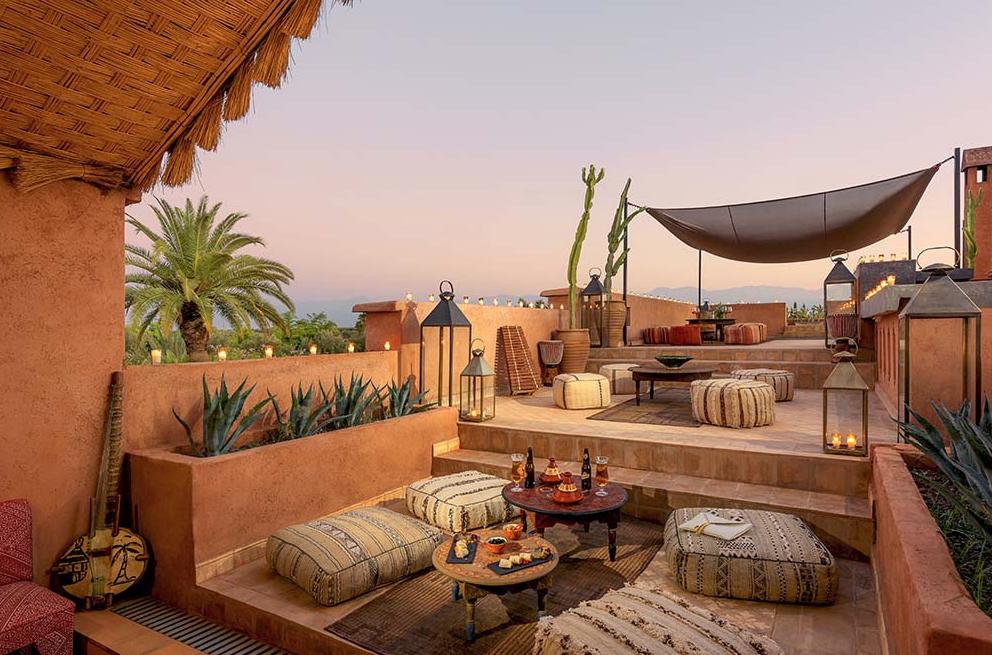 The Source Marrakech Jardin Marocain Deco Mur Exterieur Maison Marrakech