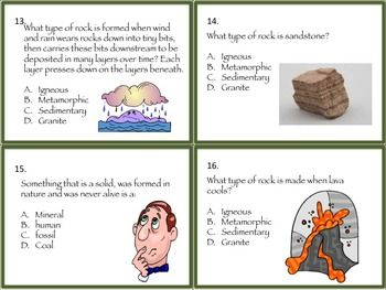 Rocks And Minerals Task Cards And More Science Teaching Resources Middle School Resources Task Cards