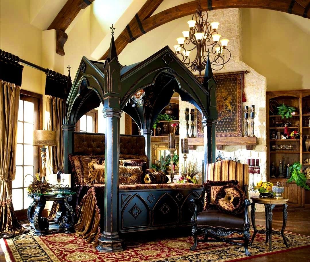 Related From Take The Appropriate Gothic Bedroom Furniture