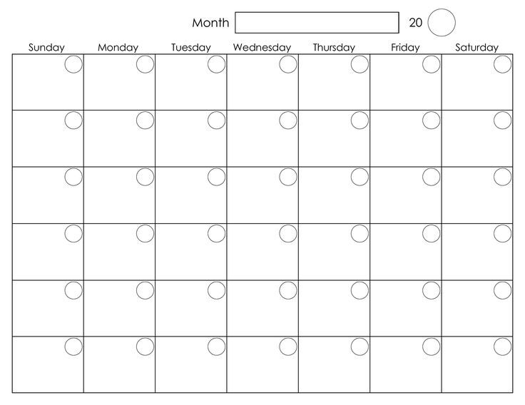 1000 Ideas About Monthly Calendars On Pinterest Planner Pages