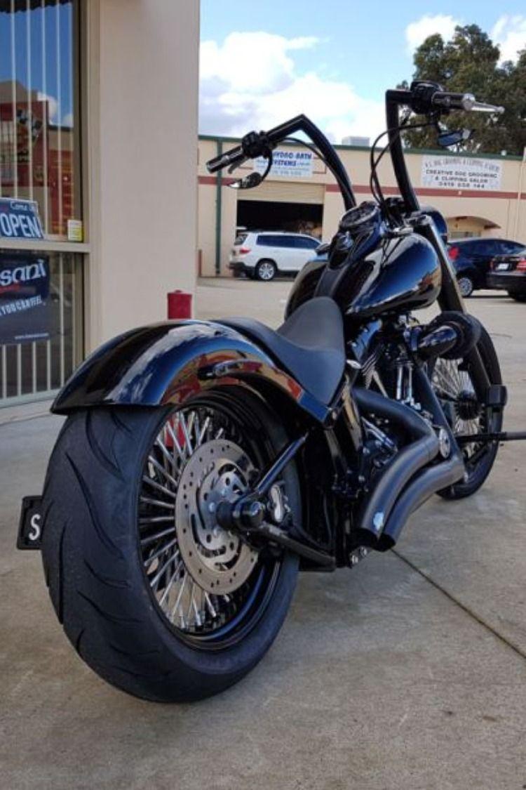 """Harley Softail Ape Hangers : harley, softail, hangers, Harley-Davidson, Softail, """"Ape, Hanger"""", Westside, Customs, Slim,, Custom,"""