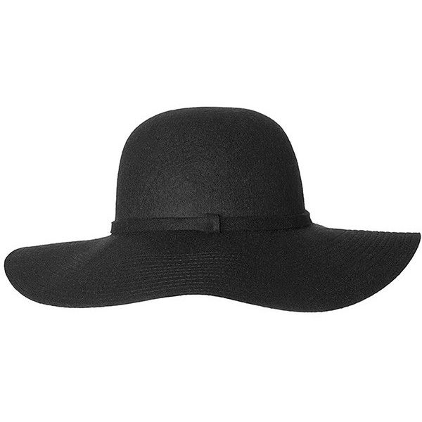 2178c64e Wilma Wool Floppy Hat Black Target Australia ($18) ❤ liked on Polyvore  featuring accessories, hats, wool floppy hat, floppy brim hat, crown hat, wide  hat ...