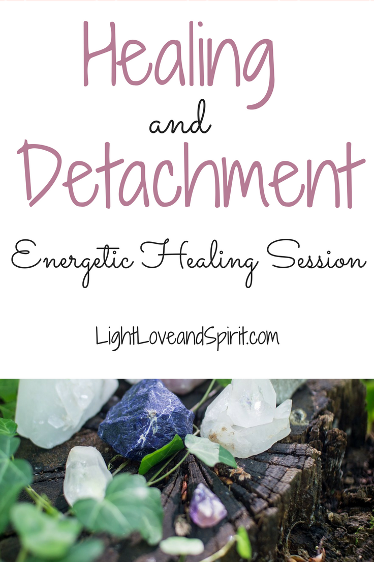Healing And Detachment Session   NATURAL HEALERS  NATURE HAS