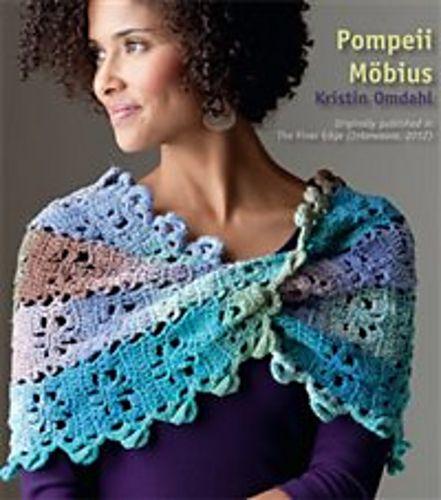 Ravelry: free Pompeii Möbius pattern by Kristin Omdahl | Knitting ...