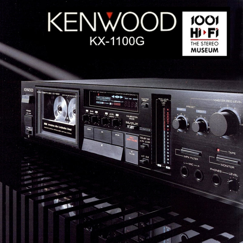 KENWOOD KX-1100G #audiovideo
