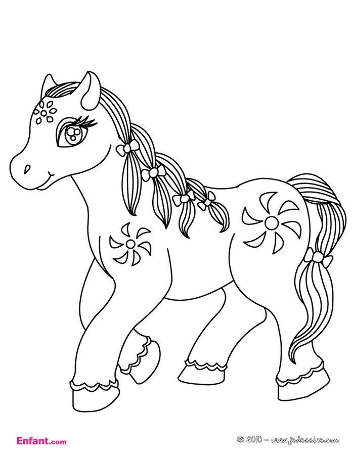 Coloriages Pour Fille Le Poney Enfant Com Coloriage Cheval Coloriage Cheval A Imprimer Coloriage Poney