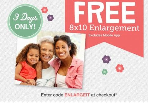 Free Walgreens 8×10 Photo Print via heyitsfree.net