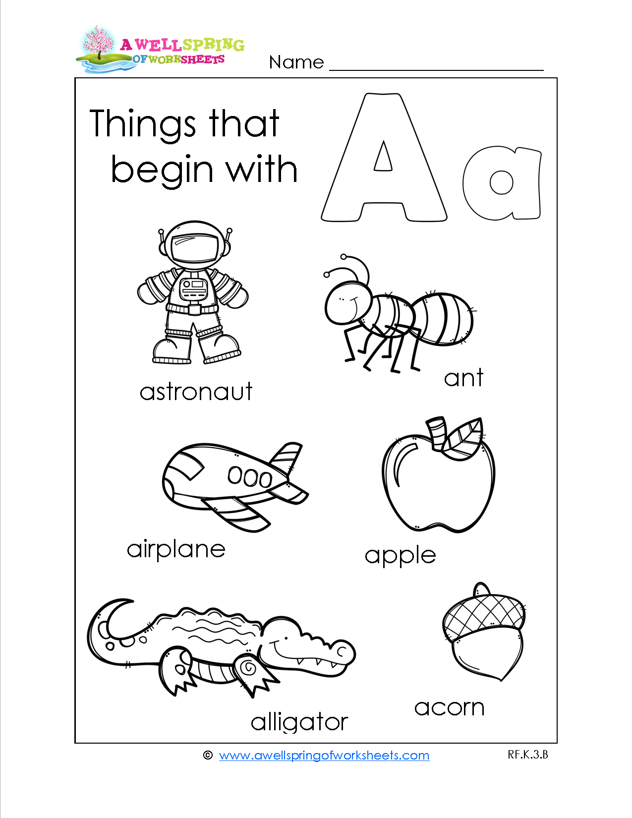 worksheet A-z Worksheets things that begin with a z these worksheets are great compliment to your alphabet letter