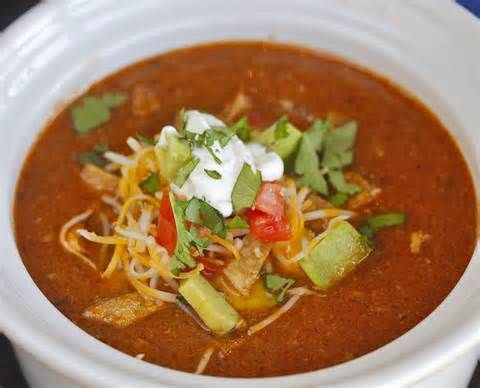 Amazing Chicken Tortilla Soup Healthy Recipes Pinterest Soup
