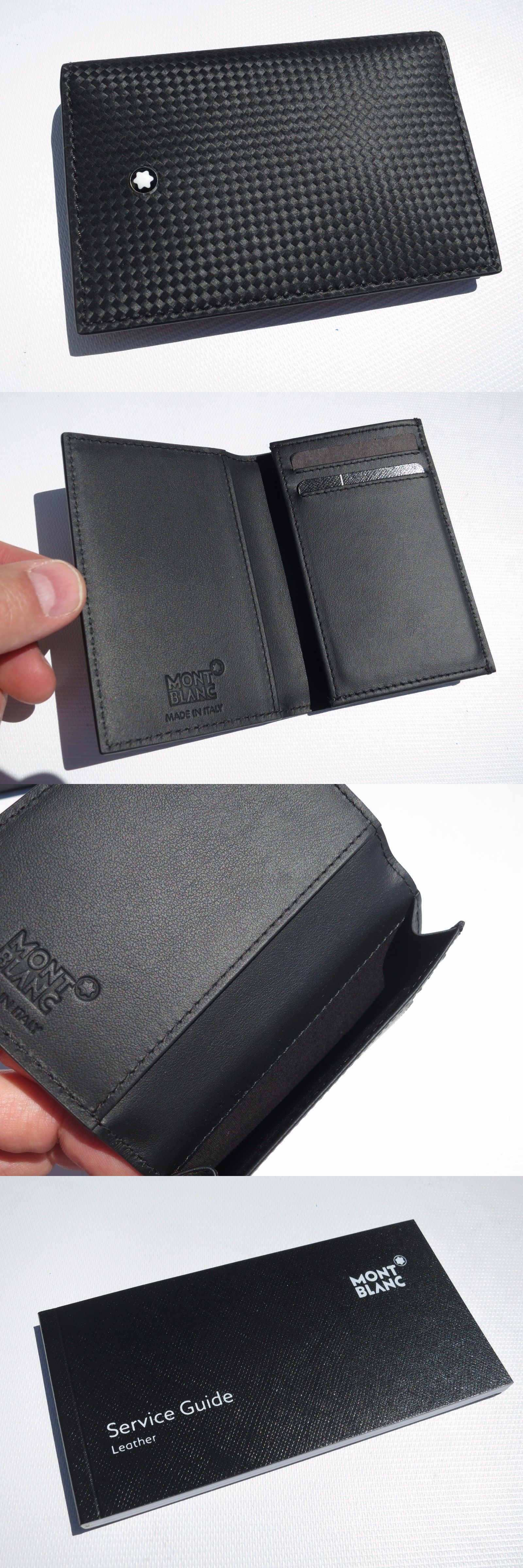 Business and Credit Card Cases 105860: New! Montblanc Of Italy ...