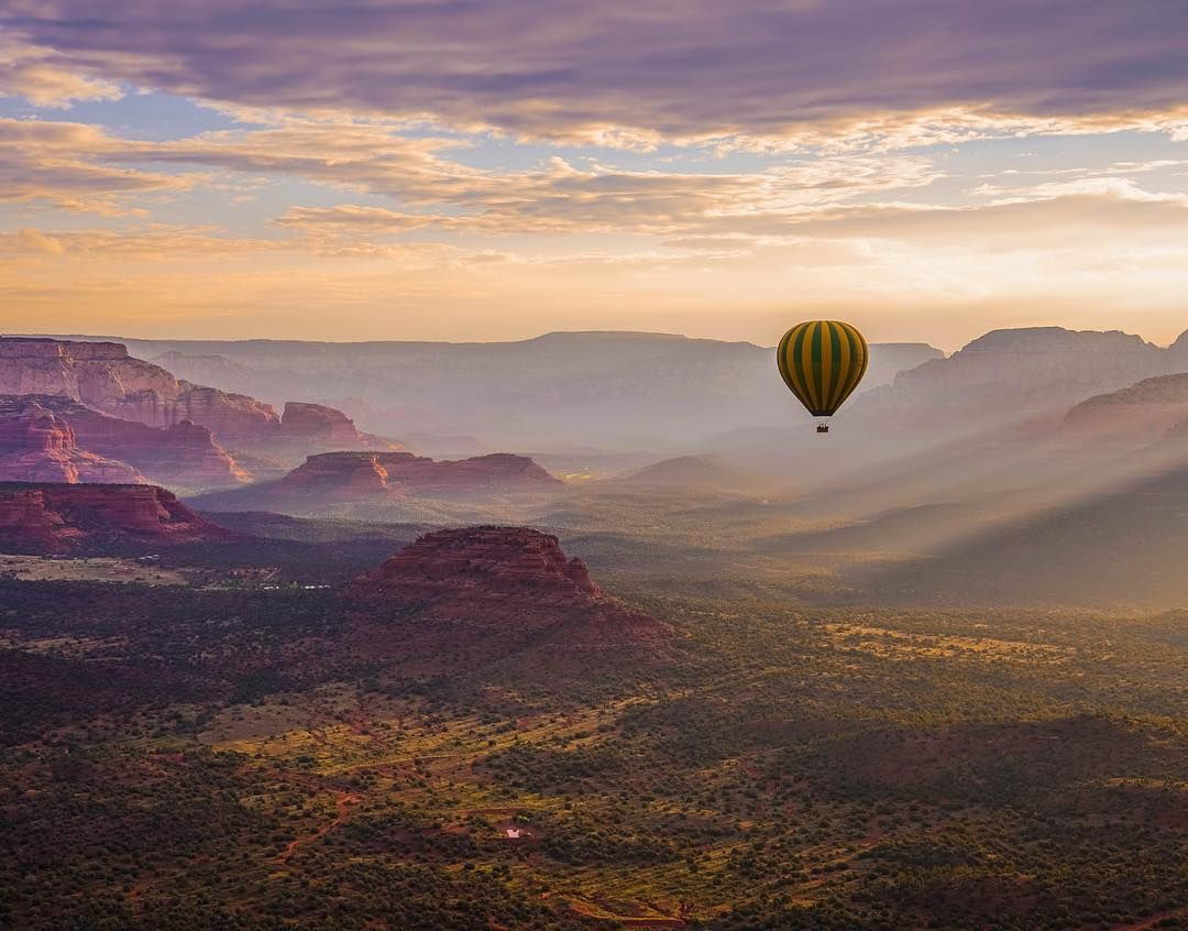 Top 10 Things to do in Sedona Hot air balloon rides