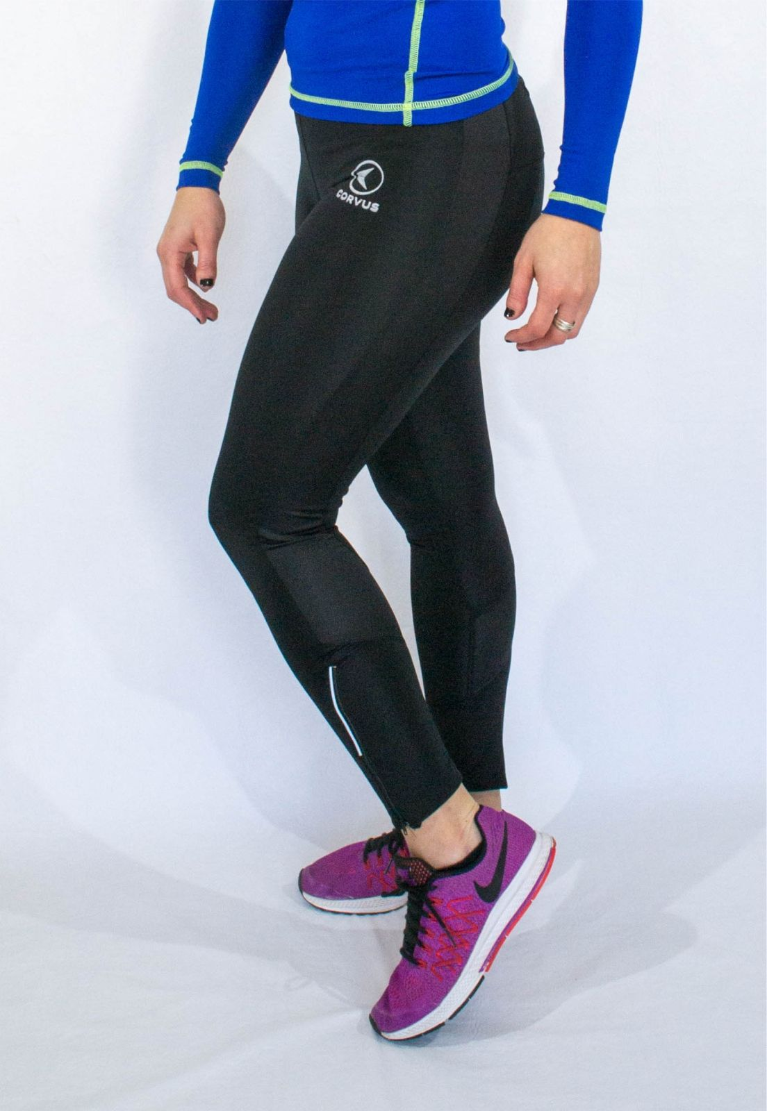 149abe2dd  sprint  calza  leggins  Corvus  Ropa  Deportiva Calzas largas  confeccionadas en