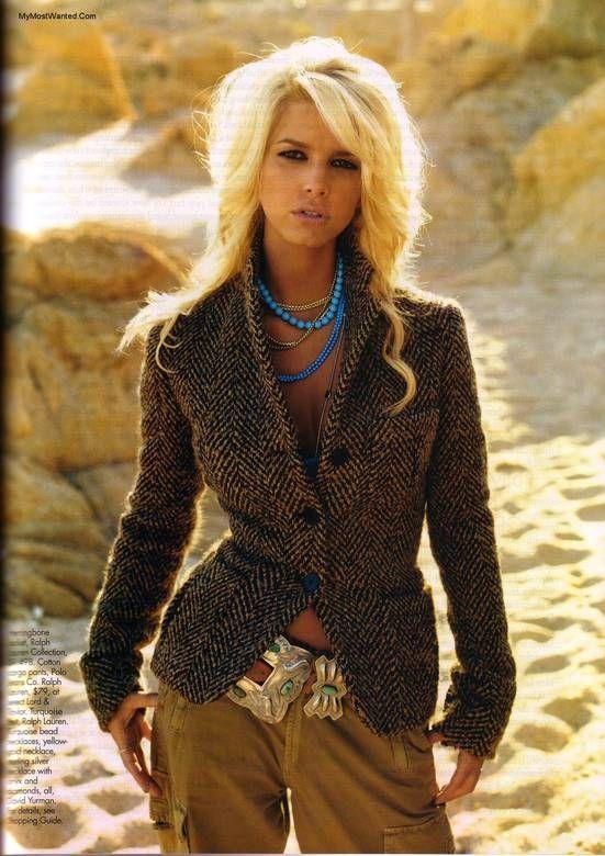 Love Jessica Simpson Hair & this outfit!!! #jessicasimpsonhair